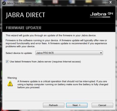 Jabra Firmware Upgrade - Jabra - Matériel [Technisys]